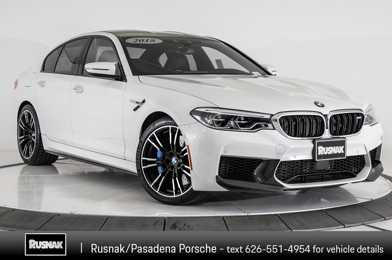 Pre-Owned 2018 BMW M5 Base