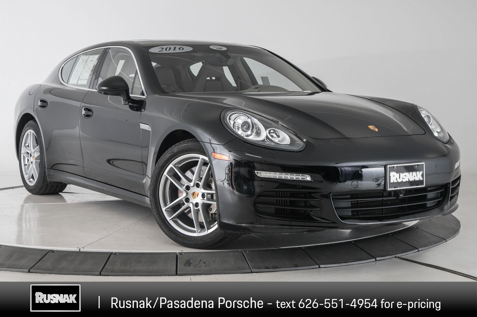Certified Pre Owned 2016 Porsche Panamera S