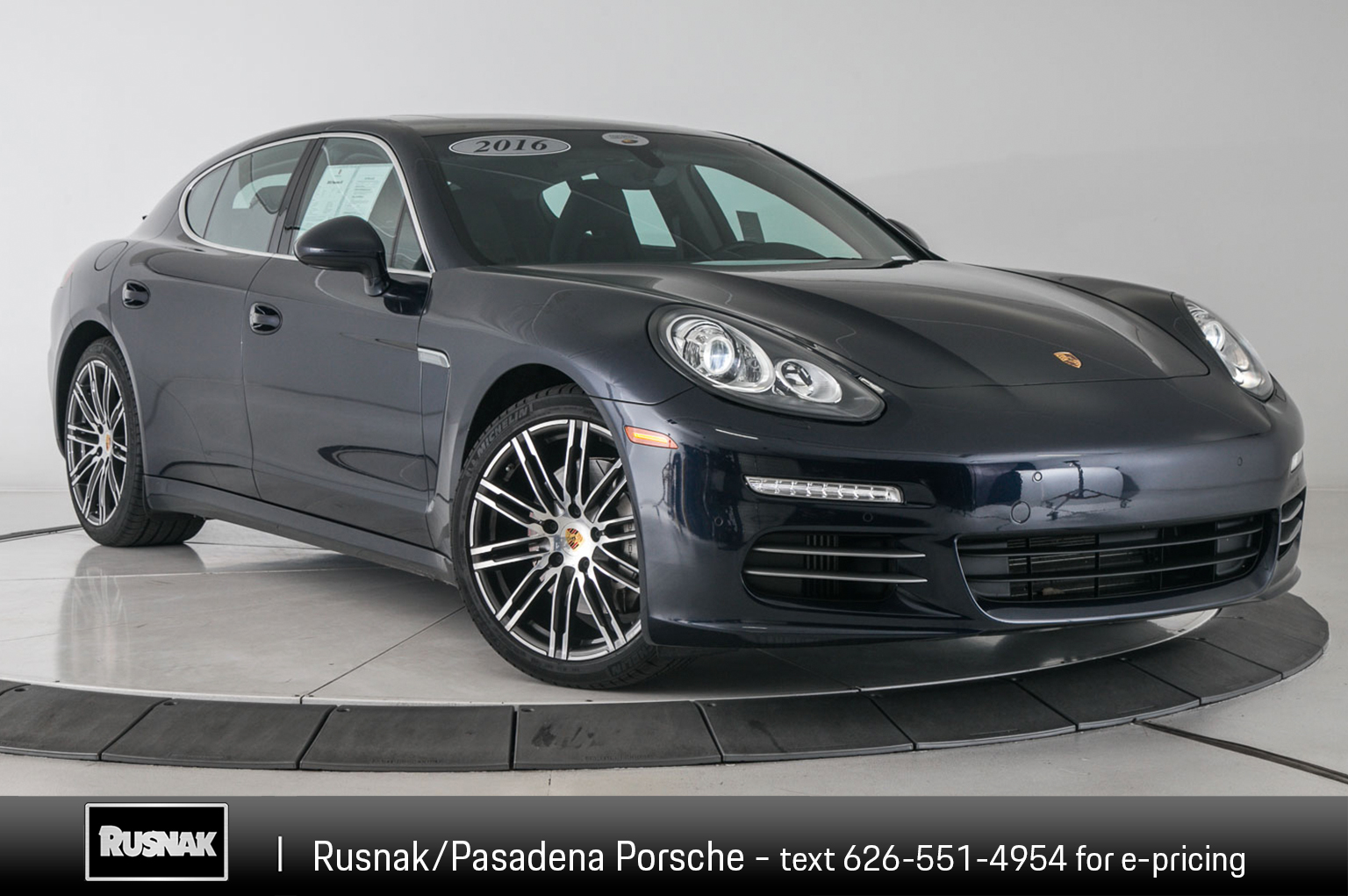 Certified Pre Owned 2016 Porsche Panamera 4s