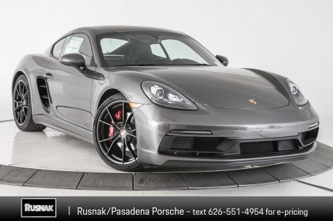 New 2018 Porsche 718 Cayman GTS