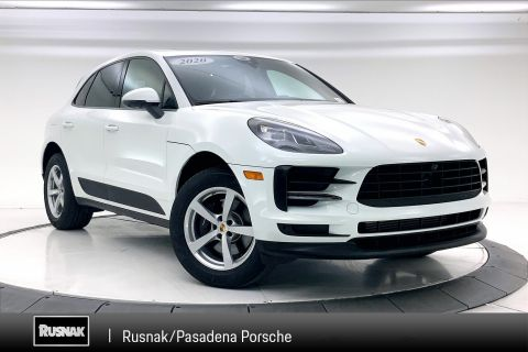 Certified Pre-Owned 2020 Porsche Macan Base